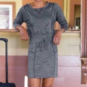 Athleta Give It Your All Dress Gray Size Small